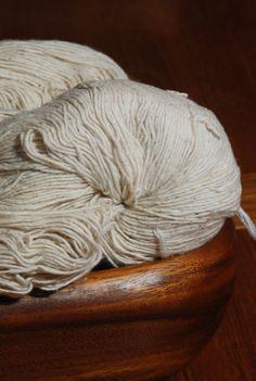 organic handspun cotton yarn