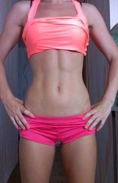 Prob won't go quite as muscly but good ab inspiration