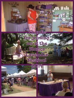 2014 lavender Fest in Blanco