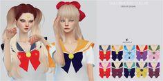 Sailor Moon Collar at Kalewa-a via Sims 4 Updates
