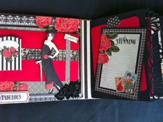 the right side of my central page of my Mini Maxi album G45 Couture