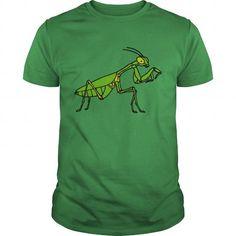 I Love  praying mantis T shirts