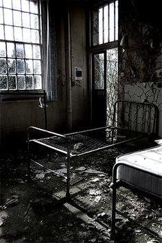 #abandoned Cane Hill Asylum