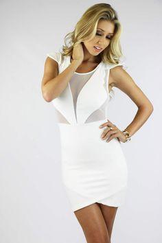 Nobu White Dress Shop: WWW.LUSHFOX.COM