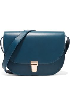 A.P.C. Atelier de Production et de Création - Vienne Leather Shoulder Bag - Midnight blue - one size