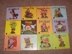 Stephen Cosgrove Bugg Books. Double sided. Loved these, still have them somewhere. :) The Land of More Than Small