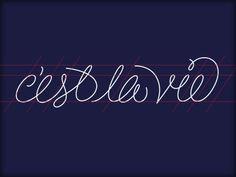 Dribbble - C'est La Vie by Fuzzco™