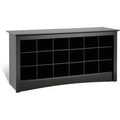 Enjoy exclusive for Prepac Shoe Storage Cubbie Bench, 24 x 48 x 16 , Black online - Nicetopnice Shoe Storage Cubbie Bench, Upholstered Storage Bench, Storage Benches, Storage Ideas, Shoe Bench, Hall Bench, Bench Seat, Outdoor Storage