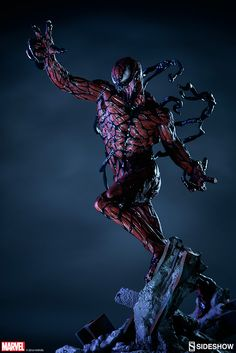 The Exclusive Carnage Premium Format Figure is available at Sideshow.com for fans of Spider-Man Rogues and Marvel Comics.