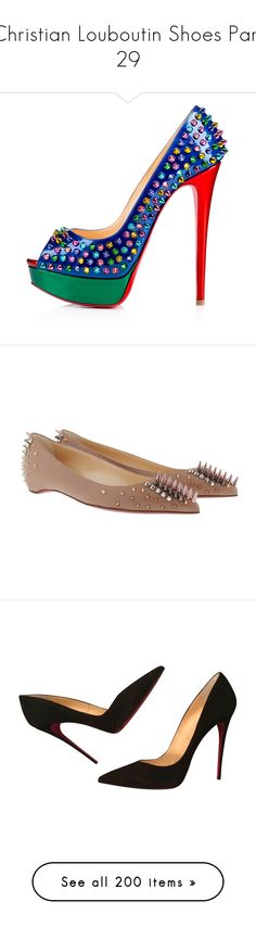 """""""Christian Louboutin Shoes Part 29"""" by leanne-mcclean ❤ liked on Polyvore featuring shoes, slip on shoes, peeptoe shoes, peep-toe shoes, platform slip on shoes, peep toe shoes, flats, beige, nude flats and pointed-toe flats"""