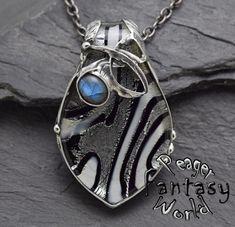Glass~Labradorite Pendant – PeagerFantasyWorld My Fantasy World, Soldering Jewelry, Metal Working, Gemstones, Pendant, Metalworking, Pendants, Gems, Gem