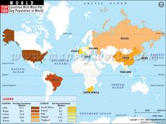 Top Ten Countries With Most Pet Dog Population