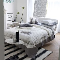 Designers Guild Savine Graphite  Sensational Tie Dye Quilt on shopstyle.co.uk