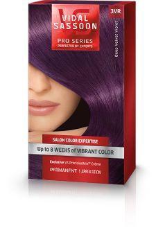 Vidal Sassoon Pro Series London Luxe Deep Velvet Violet -- dyeing my hair this color as we speak... SO excited!