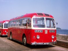 https://flic.kr/p/fGggif | 0156 19710619 Fife JWG 503 | One of the final batch of Guy single-deckers, Fife's Alexander-bodied FGA 12 is pictured in June 1971 in Kirkcaldy's Country Bus Station on the Esplanade with the waters of the Forth behind.  New in May 1957, the whole batch was withdrawn the year after the photo was taken.