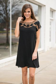 """""""In Good Company Dress, Black"""" 