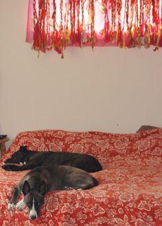 boho chic no sew gypsy rag curtains Mint Curtains, Rag Curtains, Boho Chic, Bohemian, Needle Felting, Wool Felt, Gypsy, Home Improvement, Sculptures