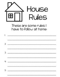 My Rules and Responsibilities Booklet Kids Learning Activities, Educational Activities, Rights And Responsibilities, School Safety, Math Task Cards, Primary Teaching, Teacher Binder, Classroom Rules, Community Helpers