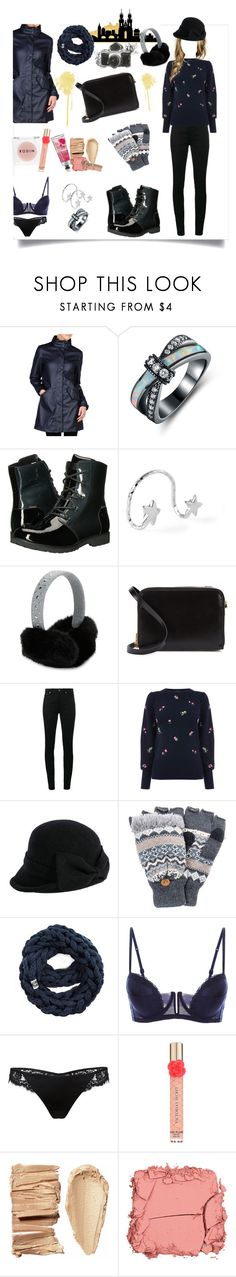 """walk with me"" by helseykingdom ❤ liked on Polyvore featuring Napapijri, Sevil Designs, The North Face, MICHAEL Michael Kors, Sophie Hulme, Yves Saint Laurent, Warehouse, Siggi, Muk Luks and Rodin"