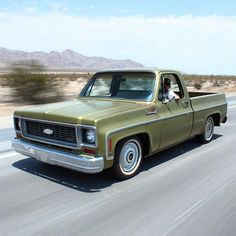 73 - 74 Chevy Custom Deluxe pick up