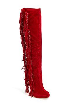 Lauren Lorraine 'Dolly' Fringe Boot (Women) available at #Nordstrom