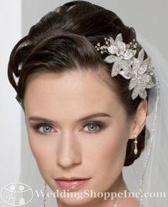 Bel Aire Bridal Headpiece 6218