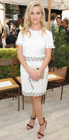 Look of the Day - Reese Witherspoon  - from InStyle.com