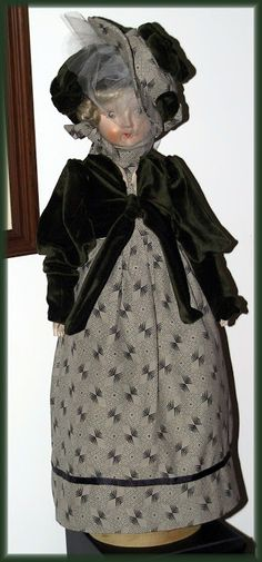 "Victorian Dolls, Victorian Traditions, The Victorian Era, and Me: The Story Behind My ""Celia's"" Victorian Doll Pattern"