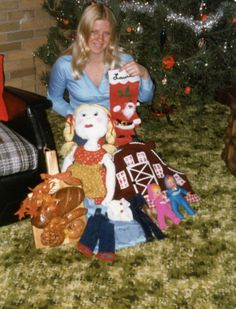 Christmas Presents 1980!!  Remember the bread boards!!
