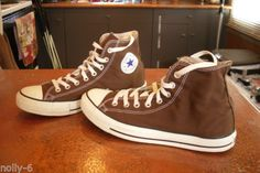 Converse-Chuck-Taylor-All-Star-Sneakers-Chocolate-Brown-Unisex-M-9-W-11-NICE