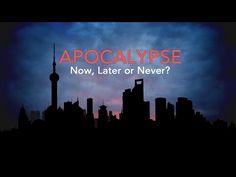 Insight: Apocalypse Now, Later or Never? - YouTube