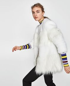 COMBINED FAUX FUR COAT-View All-OUTERWEAR-WOMAN | ZARA United States