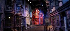 Diagon Alley- studio tour of the Harry Potter set. Time to take a break from history, ghosts and shopping and spend some time in the World of Magic! Did I say take a break from shopping? Surely there is a shop in Diagonal Alley...