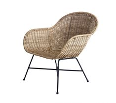A classic, mid-century modern silhouette gets an organic makeover in the design of the Design Ideas Ormond Lounge Chair . The curvy seat is hand. Rustic Dining Chairs, French Dining Chairs, Formal Dining Tables, Black Dining Room Chairs, Upholstered Dining Chairs, Outdoor Chairs, Rattan Chairs, Outdoor Areas, Office Chairs