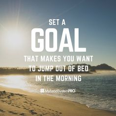 What gets you jumping out of bed in the morning? ❤️❤️Double Tap if your goals have you on FIRE! #goal #tip #life #entrepreneur #lifestyle #motivation #inspiration #quote #boss #wahm #mompreneur #womeninbiz #entrepreneurlifestyle #goals #biztip #beach