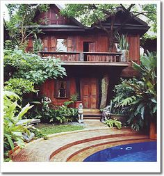 Thai house styles pictures