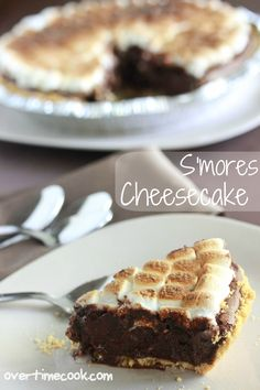 Best Summer Dessert. Ever! S'mores Cheesecake- this is so delicious!
