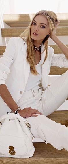Luxury Lifestyle Women, Fashion Themes, Lauren White, Event Dresses, White Style, White Fashion, Street Chic, Summer Looks, Bellisima