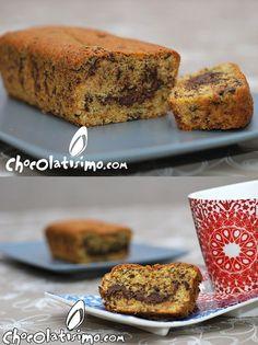 Cake de chocolate y vainilla (: