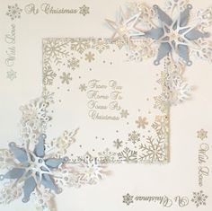 Hello Crafters I'm a few days late with this - oops! I got so carried away making samples with my new Butterfly Elegance stamps that I c. Christmas Is Coming, Christmas 2016, All Things Christmas, Christmas And New Year, Christmas Ideas, Fall Cards, Christmas Cards, Christmas Giveaways, New Year Card
