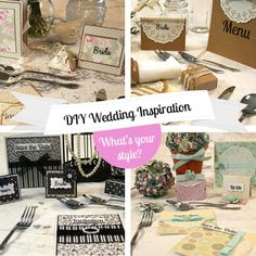 Getting married or know someone who is? Here is a peek at next week's Crafty wedding series where we show you 4 inspirational DIY wedding themes