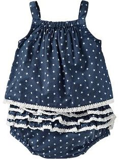 Star-Print Top & Bloomer Sets for Baby | Old Navy