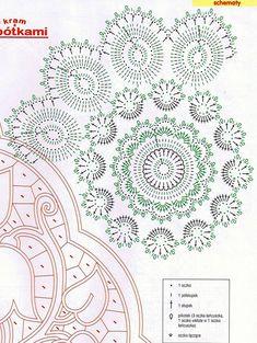 Картинки по запросу koronka koniakowska schematy