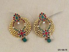 ER-168-78 || Sharnam Antique Earring