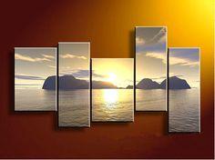 landscape canvas oil paintings