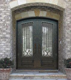 Capri 3qtr Segment Iron Door