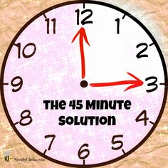 The 45 minute Solution: Organizing ~ Simply Cintia