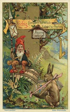 Liebig Co. advertisements of the past