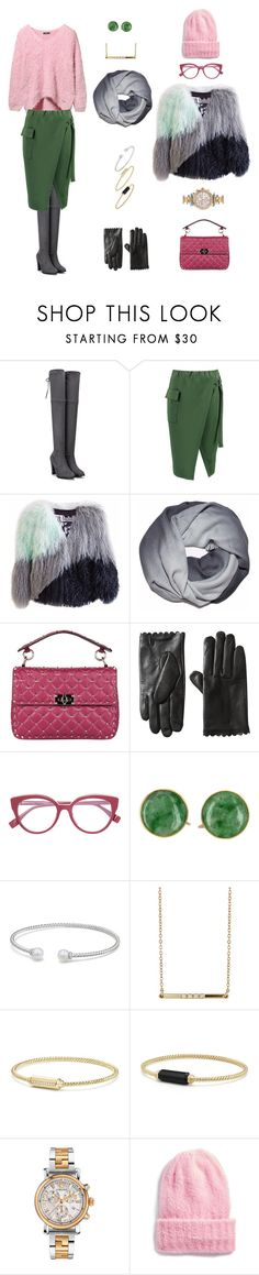 """Без названия #218"" by kmarina ❤ liked on Polyvore featuring Boohoo, Florence Bridge, Valentino, David Yurman, Loren Stewart, Versace and Free People"