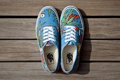 "Image of Vans California Van Doren Series 2013 Spring Authentic CA ""Parrot"""